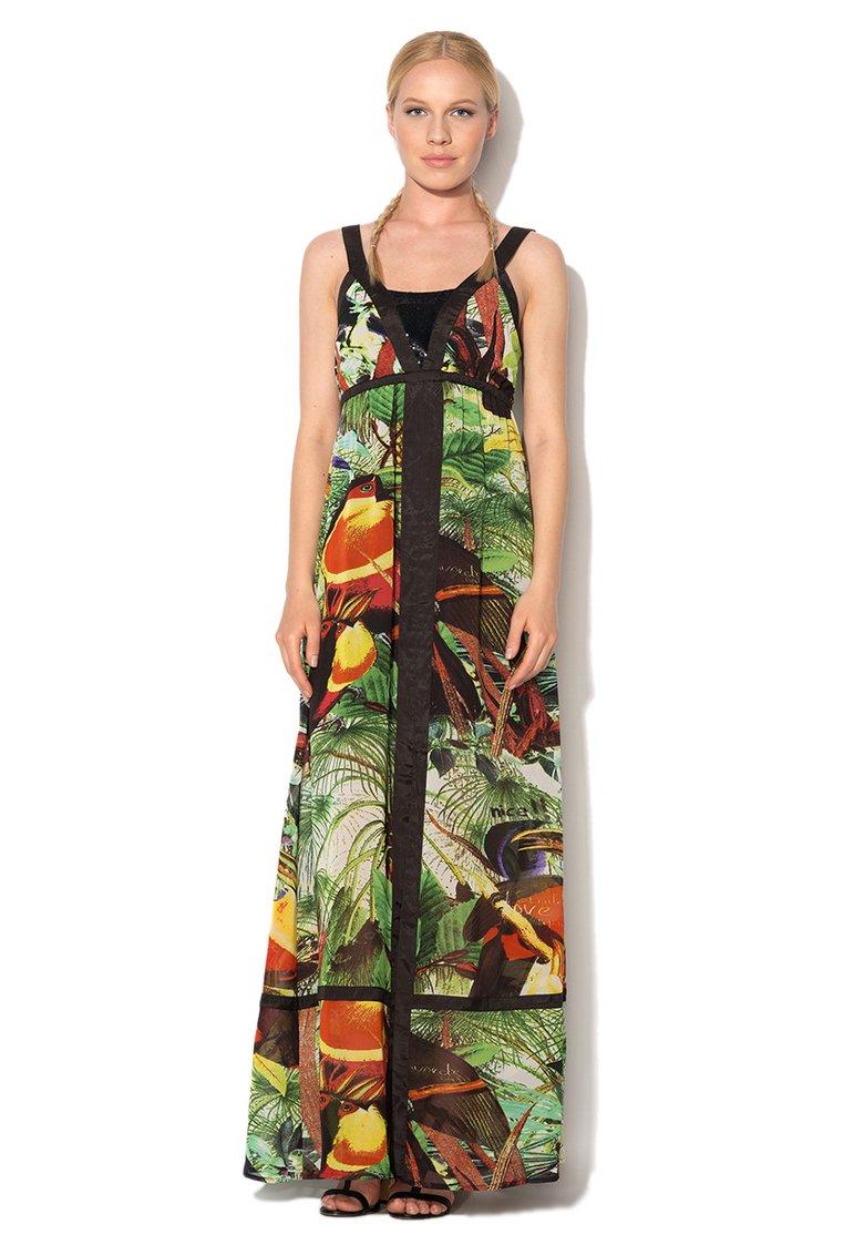 Rochie Desigual imprimeu tropical