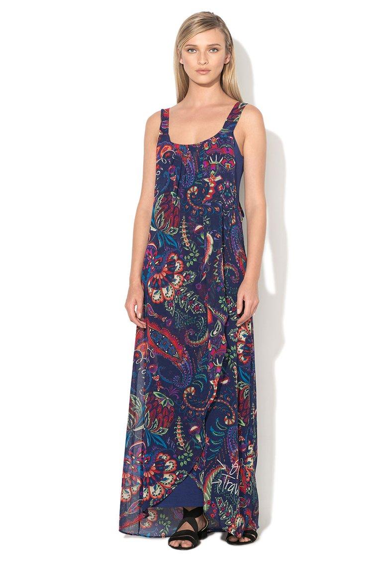 Rochie Desigual lunga albastra