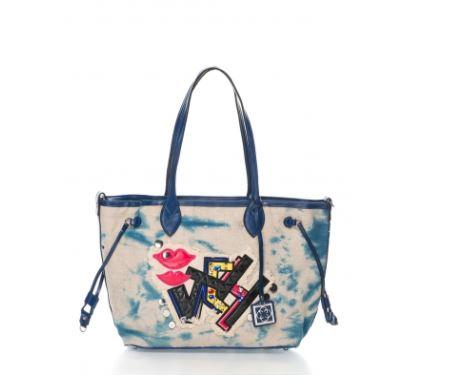 geanta shopper colorata