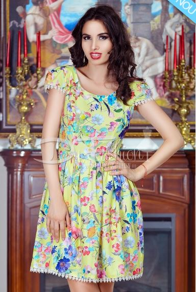 Rochie-Summerly-Yellow