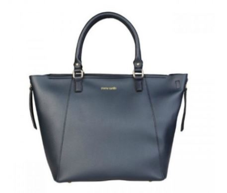 geanta shopper Pierre Cardin albastra